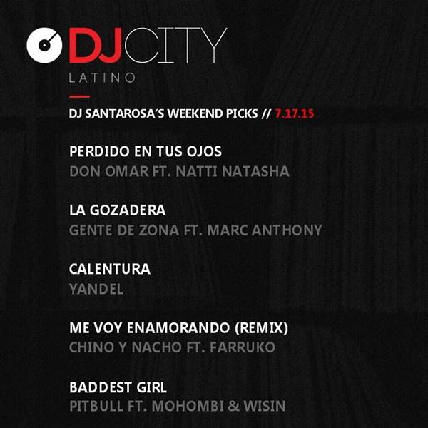 DJcity Latino Picks