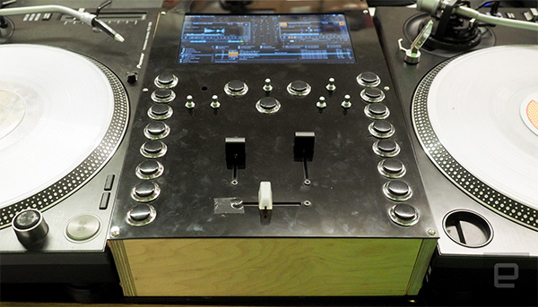 Thud Rumble's Intel-powered DJ mixer