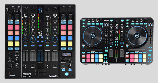 Mixars Quattro and Primo