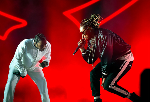 Kendrick Lamar and Future