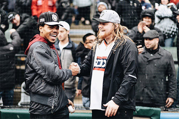 Chance The Rapper and Pat Corcoran