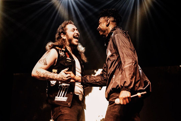 Post Malone and 21 Savage