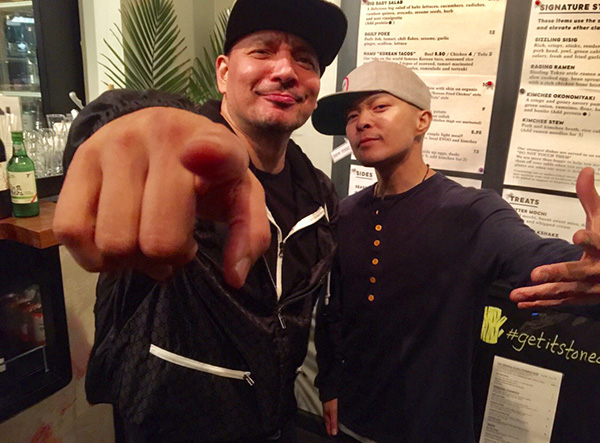 Mix Master Mike and DJ QBert
