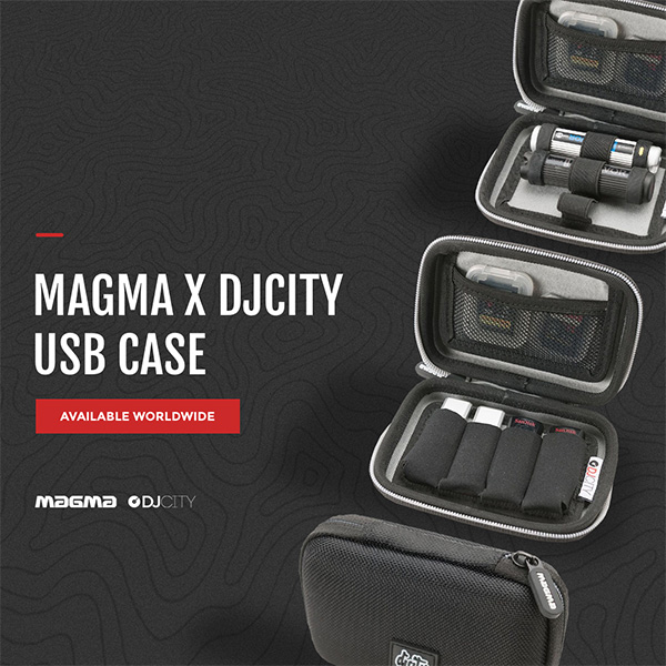 "Magma ""DJcity Edition"" USB Case"