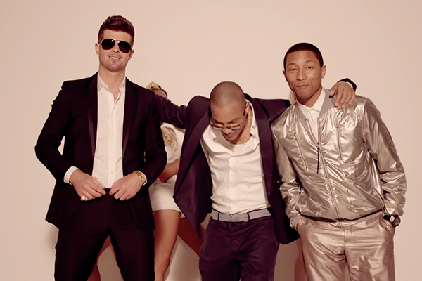 Robin Thicke and Pharrell