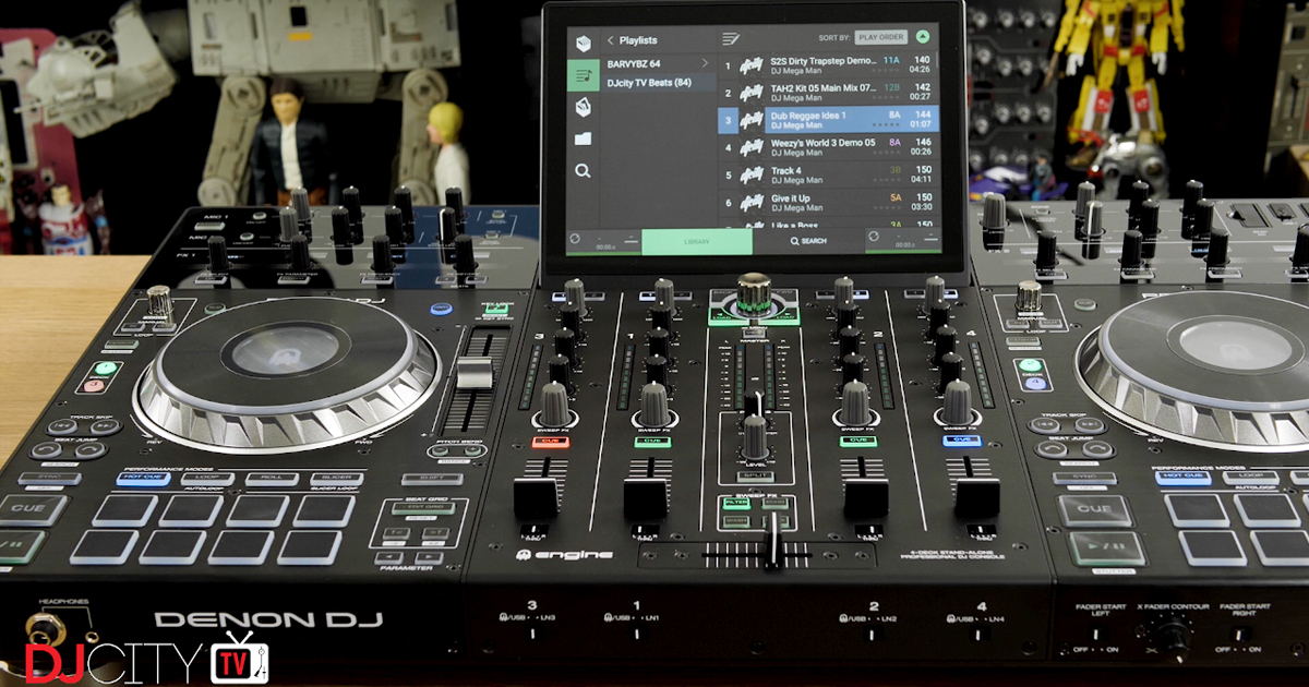 First Look: Denon DJ's Prime 4 Standalone DJ System